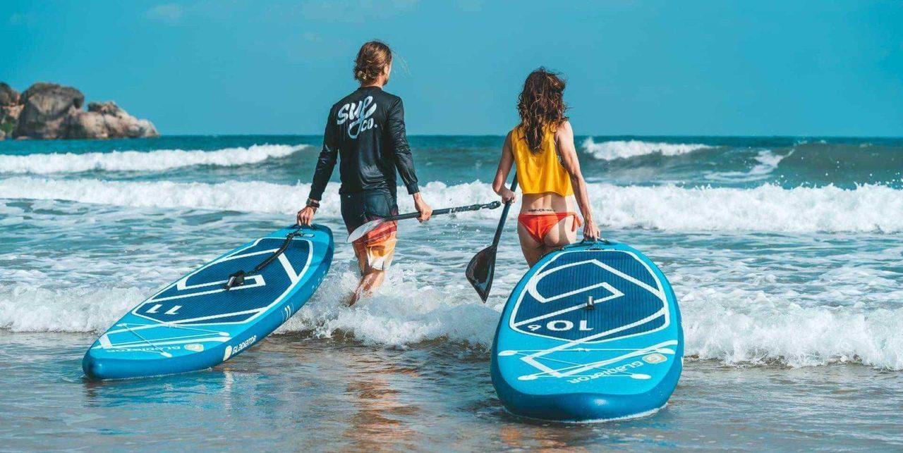 Предлагаем лучшие цены на сёрфинг с веслом в Анапе